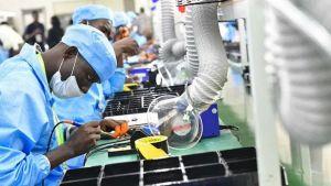 Uganda smartphones factory