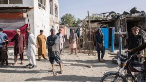 Afghanistan street shop