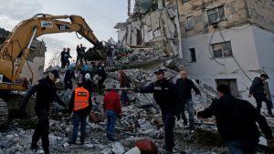 Albania deadly earthquake