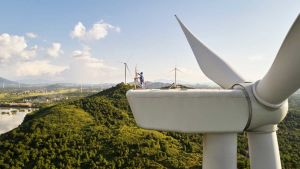 Apple wind turbine