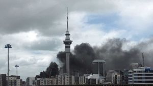 Auckland fire