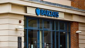 Barclays bank in a small village