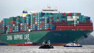 Big cargo ships