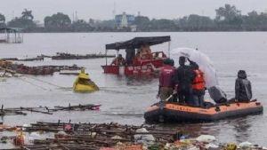 boat sinks in Congo
