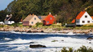 Bornholm in the Baltic Sea