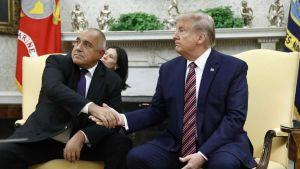 Boyko Borissov and Donald Trump