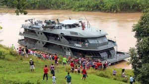 Brazil river ship