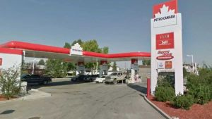 Canada gas station