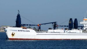 Cargo vessel Montelaura