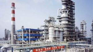 Chinese oil refinery