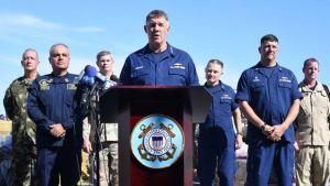 Coast Guard press conference