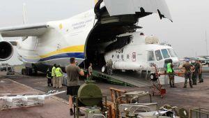 Congo cargo plane