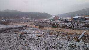 dam collapse in Siberia