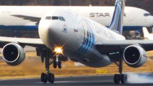 Egyptian cargo aircraft