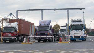 Euroepan port container