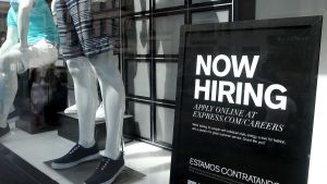 Filling for unemployment benefits increased