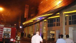 Fire in Pattaya hotel