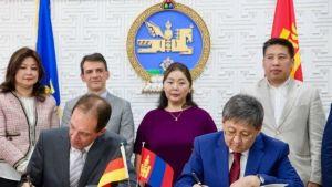 Germany and Mongolia