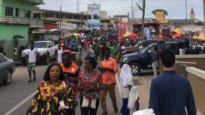 Ghana street