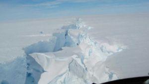 Gigantic iceberg