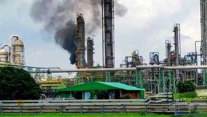 Haldia Petrochemicals fire