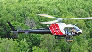 Hydro One helicopter