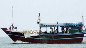 Iranian fishing boat