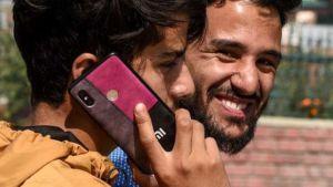 Kashmir cell phone