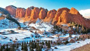 Kazakhstan snow