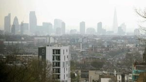 London in smog