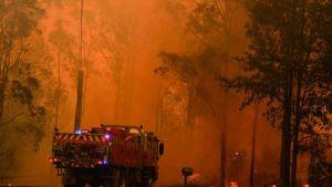 Mega fire near Sydney