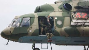 Mi-35 attack helicopter