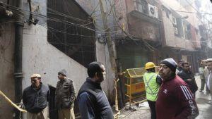 New fire in Delhi factory