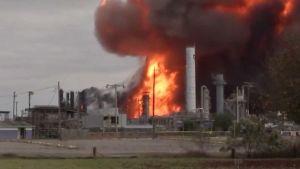 New Texas plant explosion