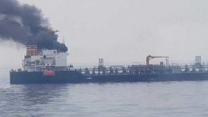 Panama flagged tanker HOYU