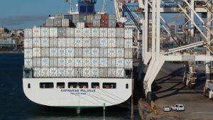 Port Elizabeth harbour South Africa