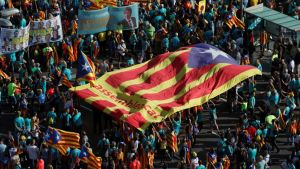 Rally for Catalonia's independence