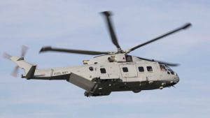 Royal Navy helicopter