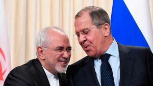 Sergei Lavrov and Mohammad Javad Zarif