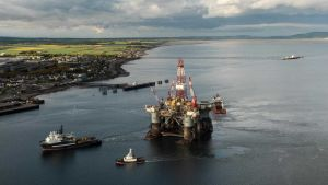 Shetland oil production