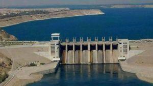 Syrian hydropower plant