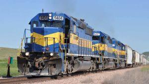 Trade cargo train