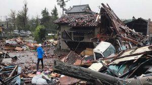 Typhoon Hagibis hit Japan hard