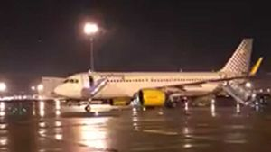Vueling flight made emergency landing