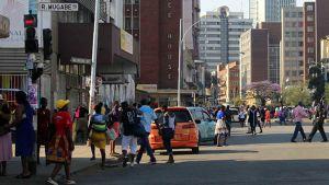 Zimbabwe street