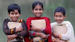 Bangladesh pupils