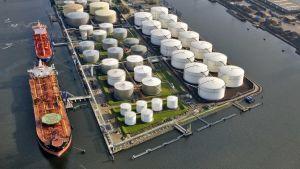 European bulk liquid storage