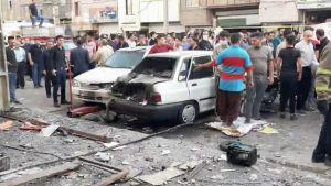 Explosion Tehran