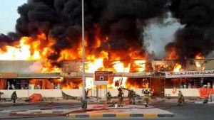 Fire breaks out in Ajman