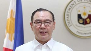 Foreign Affairs Minister Teodoro Locsin